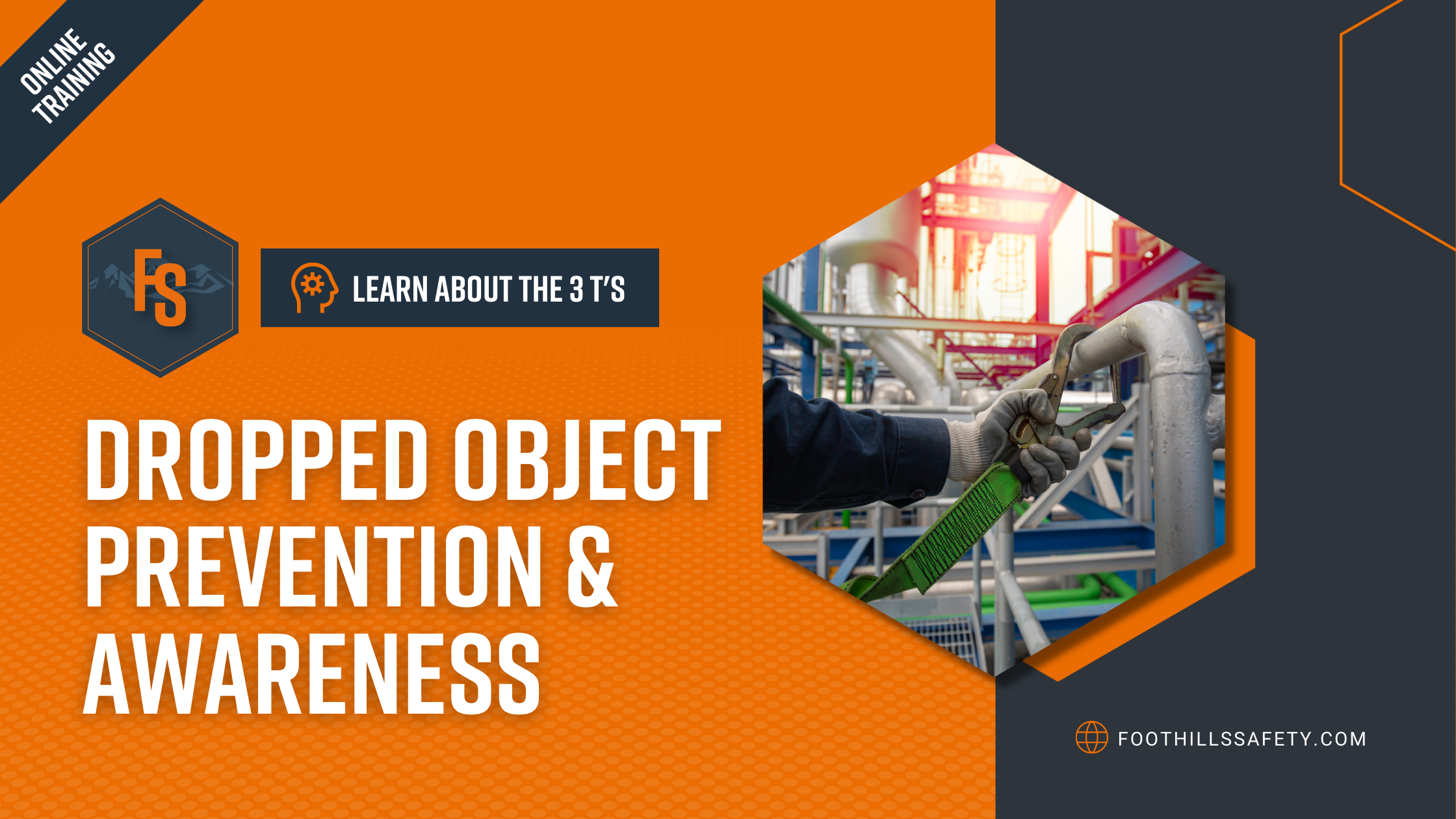 Dropped Object Prevention and Awareness